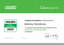 VEEAM Sales Professional